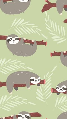 14 Adorable Sloth iPhone Wallpapers - The One Percent