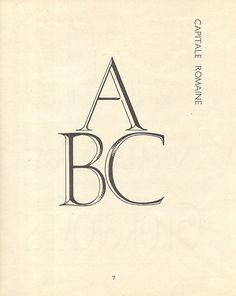 Alphabets à dessiner (1951) (set: 46). #typography