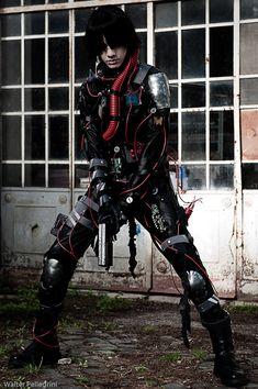 Cyberpunk, Future, Futuristic, CM IX: Blame 1 by ~LarsVanDrake on deviantART
