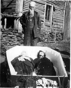 CONFESSIONS OF A FUNERAL DIRECTOR » The Somewhat Strange Story Behind this Double Coffin