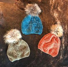 63af12510c5cd Chenille Fox Fur Beanies. Fur Pom PomFox FurBeaniesWinter HatsBeanie ...