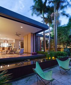 Birchgrove House By Pe Architects Indoor Outdoor