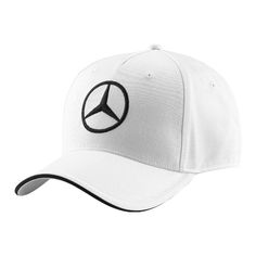 Support the hottest #F1 team on the 2015 grid! Don't like Lewis or #NicoRosberg, doesn't matter, this cap is for any #MercedesBenz fan! A very fashionable white #baseball #cap, featuring a bold black embroidered Mercedes Benz iconic Bavarian Tri-Star logo on the front as well as the #MercedesAMGF1 Team insignia on the back. Also a sturdy adjustable strap buckle. Ideal for women. Material: 100% Cotton http://www.f1boutiquecanada.com/2015-Mercedes-AMG-Petronas-Cap---Men---white
