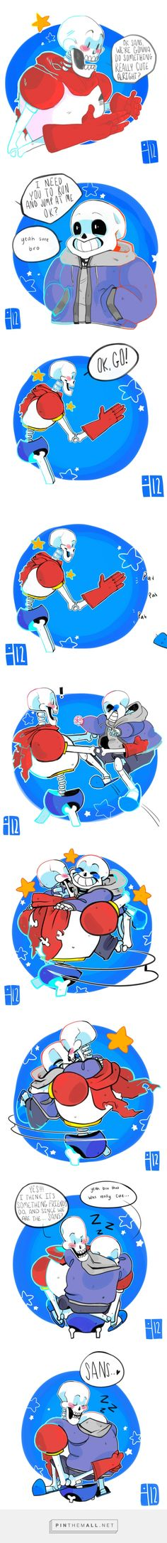 Papyrus and Sans - comic they are the cutest brothers I have ever seen!!! I CANT TAKE IT!!!