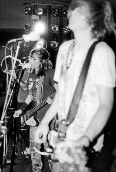 Sonic Youth in Kiev, Ukraine, 1989