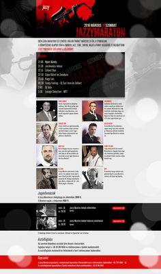 Jazzy Maraton webdesign Dj, Web Design, Feelings, Design Web, Website Designs, Site Design