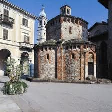 Biella, Italy the ancient Baptismal. One of the first.