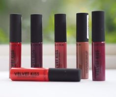 Putting things into price perspective straight away, the Collection Velvet Kiss lip creams are £2.99 each. Since I've spent the week featuring lip products that often sit around the £25 mark, it's ref