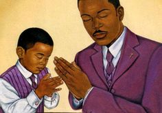Black Love Art - Putting God First II - Johnny Myers