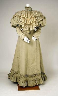 Dress 1891, American