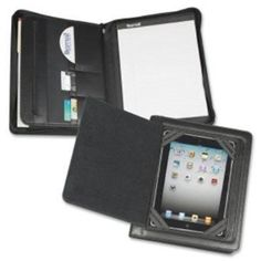 Amazon.com: IPAD ZIPPER PADHOLDER WITH MAGNETIC FLAP, VINYL, BLACK: Electronics