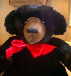 Teddy Bear Recycled Fur Coat by BearsandBuddies on Etsy, $60.00