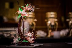 Our Pastry Chef's creation for The Art of Edible Centrepieces event for Cornucopia Food + Drink Festival  Visit Fairmont Chateau Whistler website for Cornucopia and other special events!   http://www.fairmont.com/whistler/special-offers/holiday-offers/whistler-cornucopia-events/ Photo By Sean St. Denis