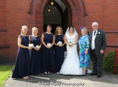 Bride, parents and bridesmaid bouquets and button holes