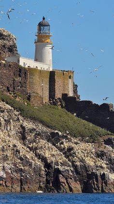 Bass Rock #Lighthouse, #Scotland- by john a gormally