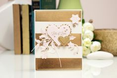 "How to: Create an Easy ""Lots of Love"" Card with Spellbinders  Saphhire"
