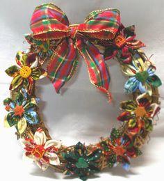 Rosa Chá Atelier : Guirlanda / Coroas Natal em tecido