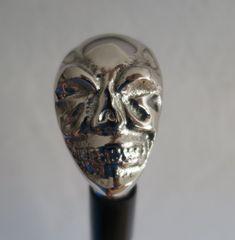 Messing, Retro, Skull, Art, Classic, Black, Kunst, Skulls, Mid Century