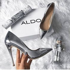 Buy Women Shoes(Order 1 size up)Metal Mania Stiletto High Heel Wedding Pumps Slip on Dance Patent Plus Size 36 - 10 cm) at Wish - Shopping Made Fun Stilettos, Women's Pumps, Stiletto Heels, Sexy Heels, Hot Shoes, Women's Shoes, Me Too Shoes, Shoe Boots, Shoes Sneakers