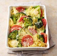 Broccoli-Nudel-Auflauf mit Tomaten Rezept - [ESSEN UND TRINKEN]
