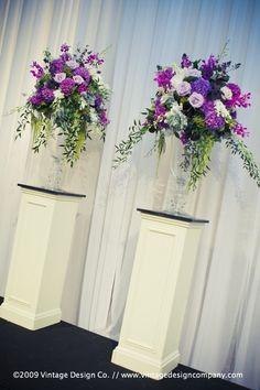 wedding alter urn arrangements | Altar Arrangements