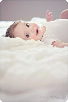 Love the laying on clouds effect! 6 months @Summer Olsen Olsen Olsen Olsen Olsen Murdock Photography