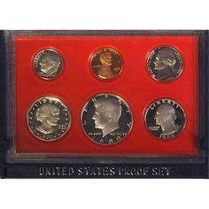 1975 PROOF SET BOX OF 5 US MINT SEALED  ORIGINAL GOVT PACKAGING UNSEARCHED