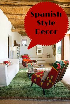 Ideas to design a Spanish style home  http://www.homedecordesigns.com/the-spanish-style/