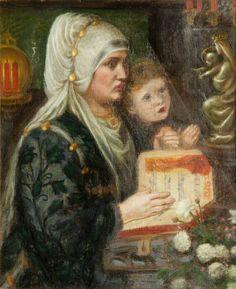 Dante Gabriel Rossetti - The Two Mothers