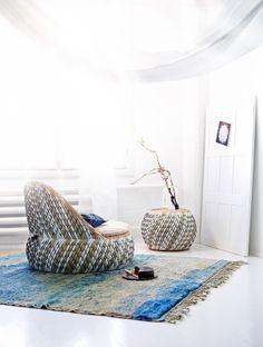 Dedon outdoor furniture indoor / Anna Aromaa Glorian koti 5/14 photo Katri Kapanen