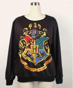 Hogwarts Sweater Harry Potter Fan Sweatshirt Christmas Sweater