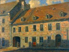 Interprétation de la maison Papineau par Georges Delfosse