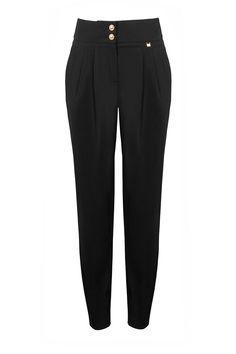 Aryton Spodnie z zakładkami/ Trousers with folds