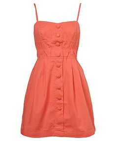 Simple and cute for a casual outdoor wedding's bridesmaid (: (: @ http://comicsqueers.tumblr.com #clothing #apparel #casual dresses #dress