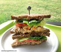 Apple-Pecan Tempeh Salad >> Dianne's Vegan Kitchen