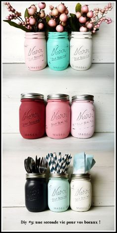 On aime chez midipile les DIY pour donner une seconde vie à nos bocaux ! http://blog.midipile.com/post/78836943496/diy-3-une-seconde-vie-pour-les-bocaux-gardez