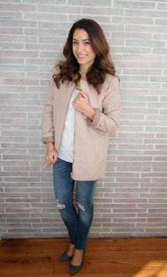 Blush Pink Coat