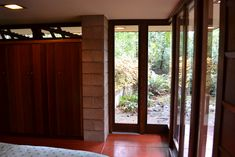 Frank Lloyd Wright's Barnes House   Exquisite Usonian House …   Flickr Usonian House, Red Floor, Clerestory Windows, Frank Lloyd Wright, Art And Architecture, Interior And Exterior, Sammamish Washington, Issaquah Washington, Home And Family