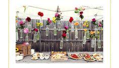 A decoração perfeita para o almoço volante no terraço lá de casa