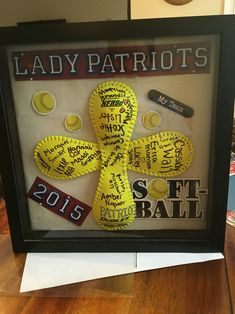 Softball coaches gift