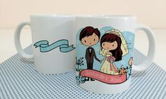 Canecas personalizadas casamento