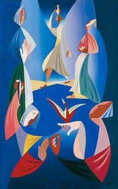 Les Porteuses d'Eau, 1939Léopold Survage - by style - Cubism ✏✏✏✏✏✏✏✏✏✏✏✏✏✏✏✏  ARTS ET PEINTURES - ARTS AND PAINTINGS  ☞ https://fr.pinterest.com/JeanfbJf/pin-peintres-painters-index/ ══════════════════════  Gᴀʙʏ﹣Fᴇ́ᴇʀɪᴇ BIJOUX  ☞ https://fr.pinterest.com/JeanfbJf/pin-index-bijoux-de-gaby-f%C3%A9erie-par-barbier-j-f/ ✏✏✏✏✏✏✏✏✏✏✏✏✏✏✏✏