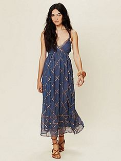 Free People Clothing Boutique > Smoke and Mirrors Maxi Dress