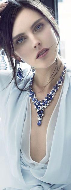 Essence of Fashion ~ Opulent Look ✦ Hair ✦ Make-up ✦ Accessories ✦ Inna Erten ✦ from my board: https://www.pinterest.com/sclarkjordan/essence-of-fashion-~-opulent-look/
