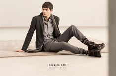 Massimo Dutti Shows How to Dress Up Joggers