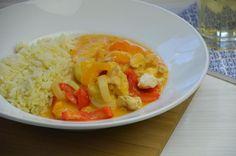 Hähnchengulasch mit Paprika - Haupgerichte - Thermomix