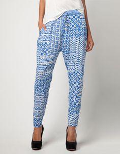Bershka United Kingdom - Bershka print trousers