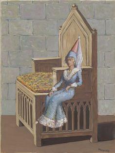 René Magritte : La Femme assise. La Place au Soleil III  René Magritte : More At FOSTERGINGER @ Pinterest
