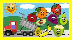 Fruit Song - Fruits Truck For Children,Preschoolers To Learn Different Fruit Names by JeannetChannel