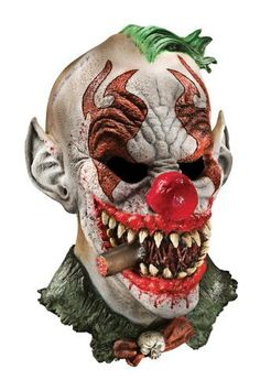 Includes one Fonzo the clown mask One size fits most teens and older Lightweight foam latex is easy to wear Perfect for that demented clown look Accessories are the touch that completes the look